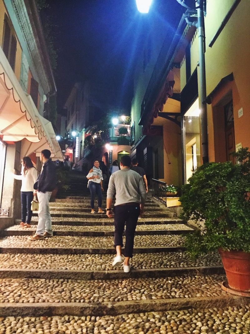 All the streets and alleyways were made of cobbled stairs. Sightseeing & cardio all in one.