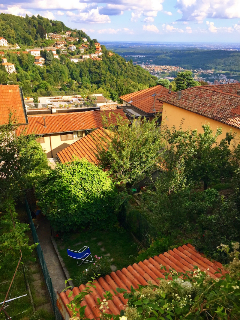 The view from Brunate
