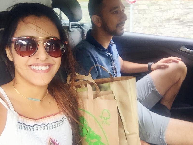 Happy shiny faces! Love road trips :)