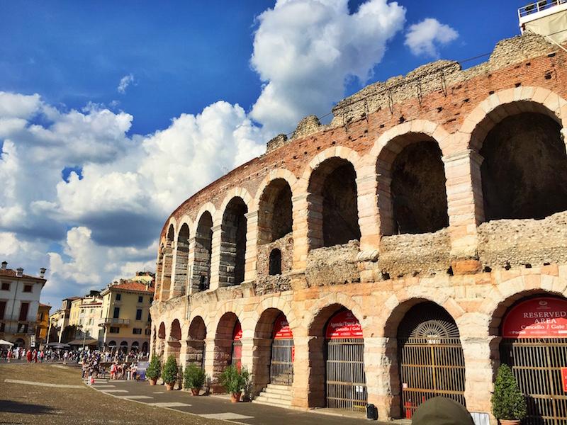 The arena of Verona.