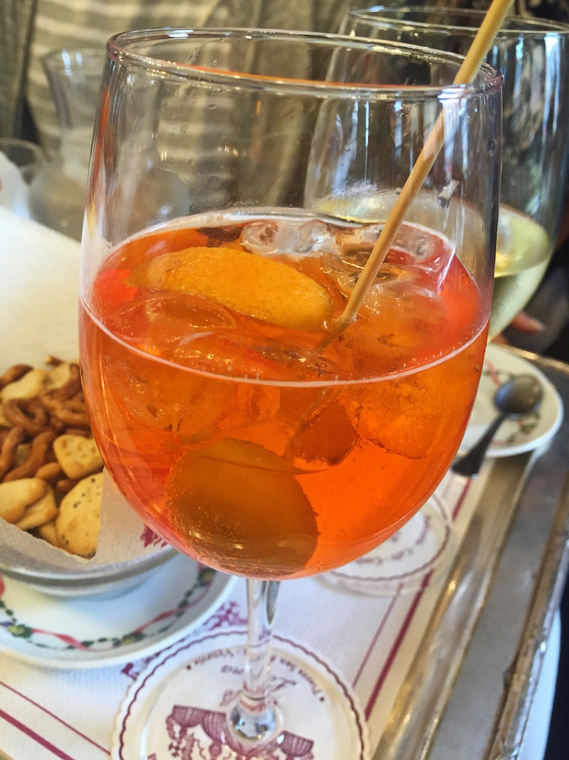 Always time for a spritz.
