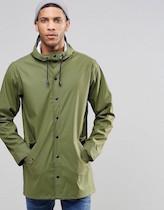 mensgreenraincoat