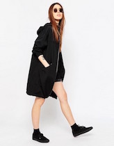 womensblackraincoat