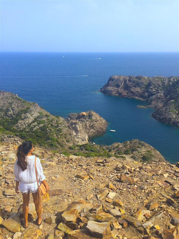 From the Cap de Creus lighthouse.