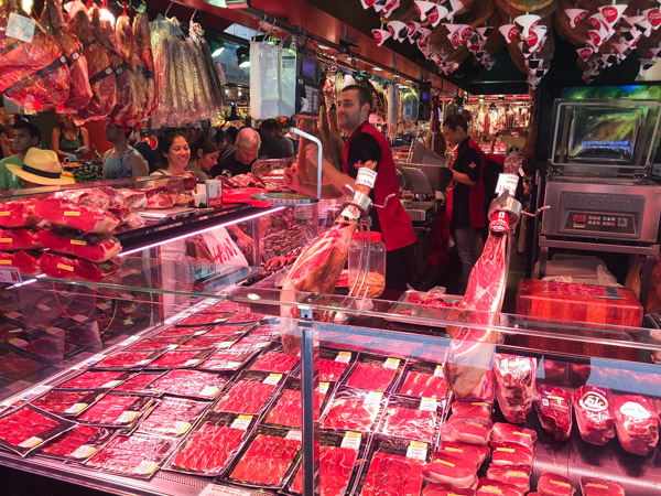 All kinds of meats