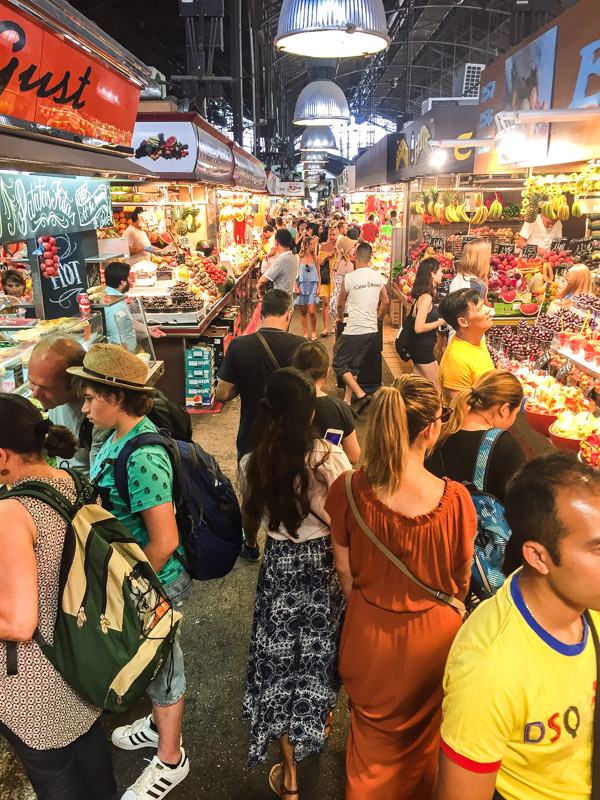 La Boqueria, a riot of smells, sounds, colors & flavours