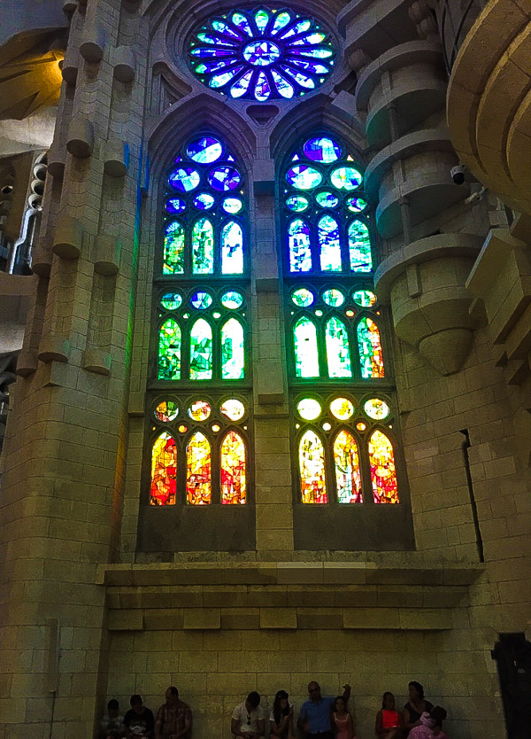 Gradient stained glass everywhere